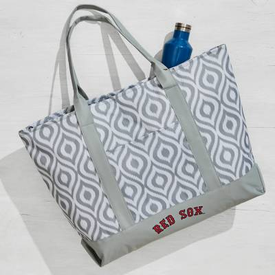 Boston Red Sox Ikat Tote