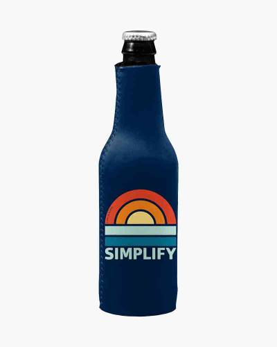 Simplify Sunset Bottle Coozie