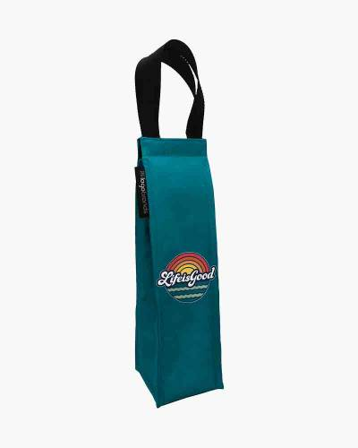 Life is Good Sunset Wine Tote