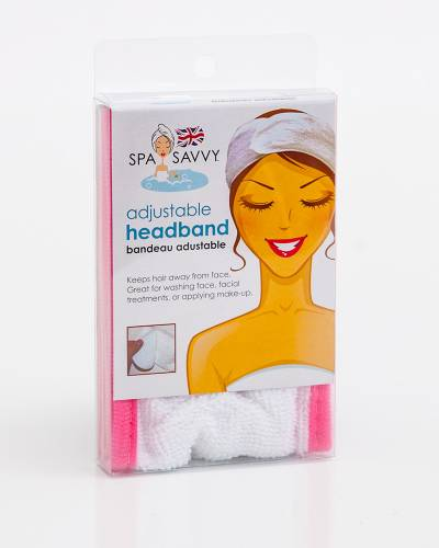 Adjustable Spa Headband