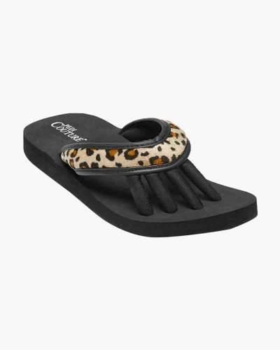 Wild Leopard Pedicure Sandals