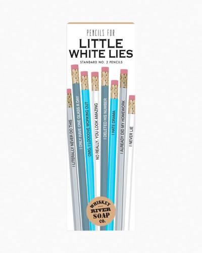 Pencils for Little White Lies