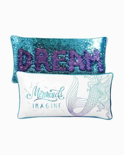Imagine Magic Mermaid Sequin Pillow