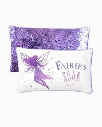 Fairies Magic Mermaid Sequin Pillow