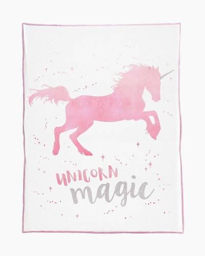 Magical Unicorn Velvet Blanket