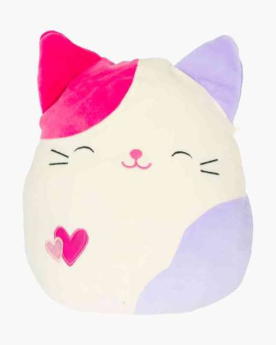 Pink and Purple Cat Super Soft Plush Toy (13 in)