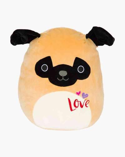 Pam the Valentine's Pug Super Soft Plush Toy (12 in)