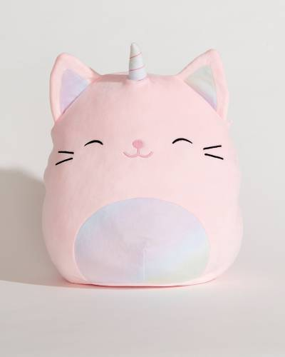 Pink Caticorn Super Soft Plush Toy (12 in)