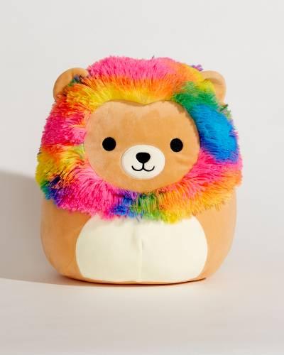 Rainbow Mane Lion Super Soft Plush Toy (12 in)