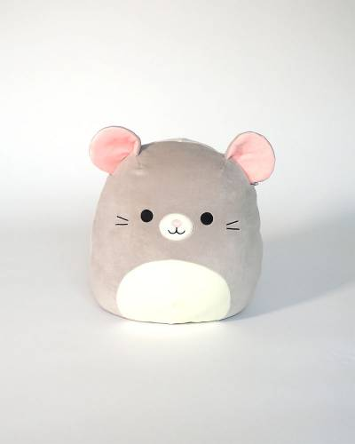Grey Mouse Super Soft Plush Toy (12 in)