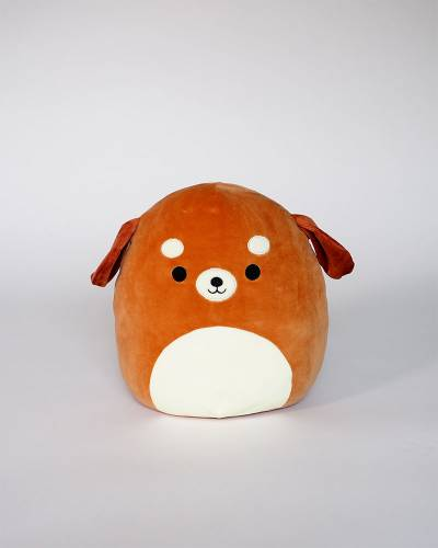 Brown Dog Super Soft Plush Toy (12 in)