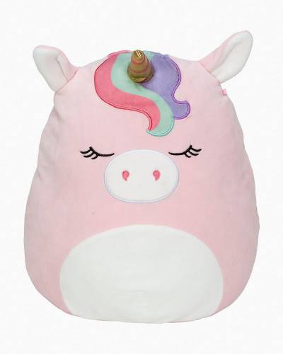 Pink Unicorn Super Soft Plush Toy (12 in)