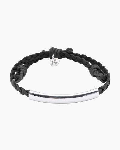 Wish Silver Bar Bracelet