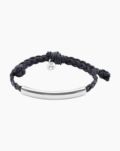 Wink Silver Bar Bracelet