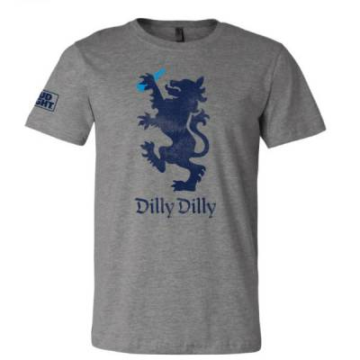 brew city beer gear men s dilly dilly bud light tee the paper store