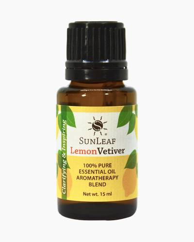 Lemon Vetiver Essential Oil Aromatherapy Blend