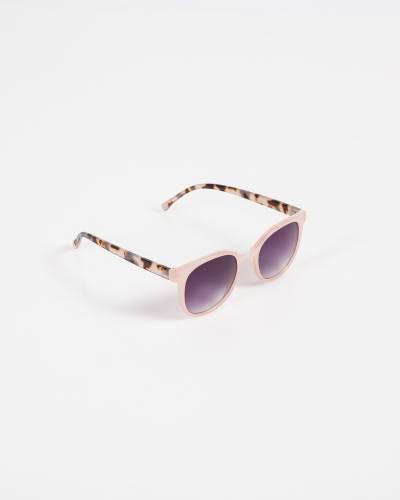 Tortoiseshell Sunglasses in Pink