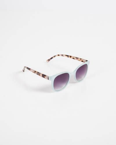 Tortoiseshell Sunglasses in Blue and Pink