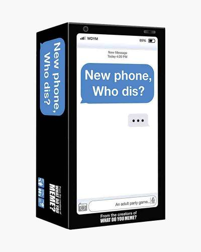 New Phone, Who Dis? Adult Party Game