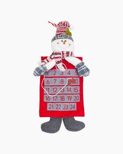 Plush Snowman Advent Calendar