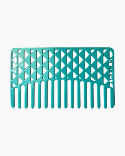 Turquoise Facets Wallet-Sized Portable Comb