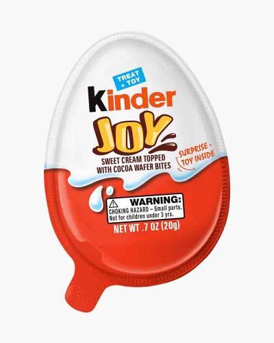 Kinder Joy Surprise Toy Chocolate Egg