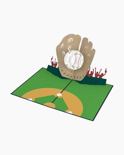 Baseball 3D Pop Up Card