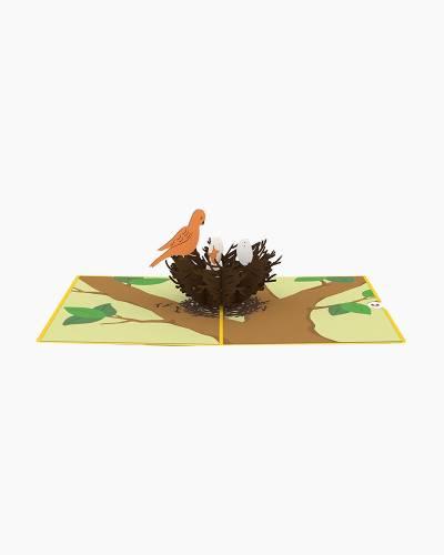 Bird Nest 3D Pop Up Card