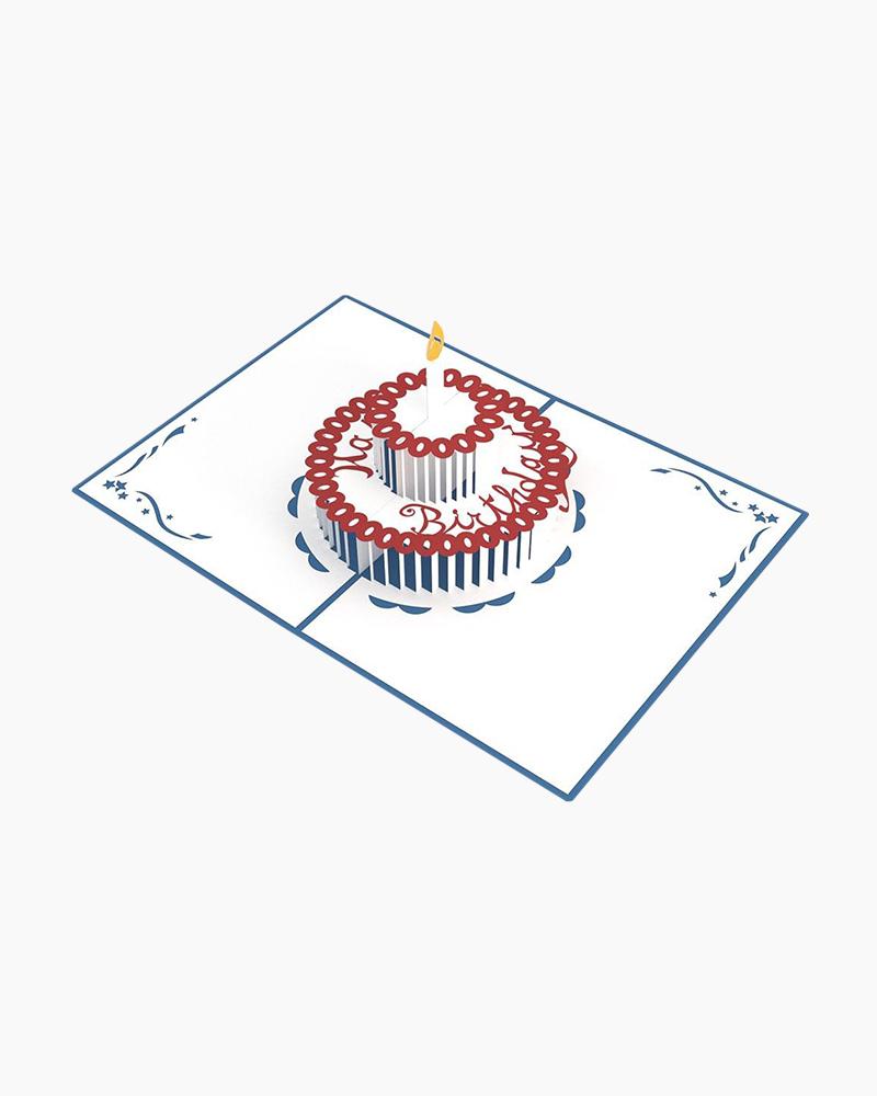 Lovepop Birthday Cake 3D Pop Up Card