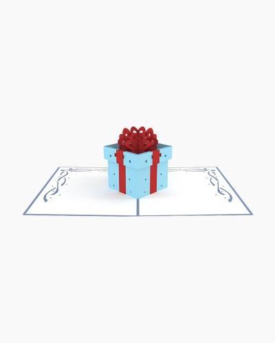 Birthday Present 3D Pop Up Card