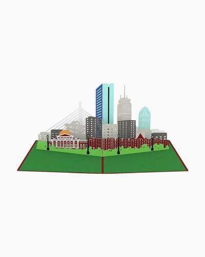 Boston Skyline 3D Pop Up Card