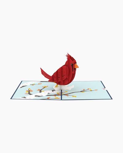 Cardinal 3D Pop Up Card