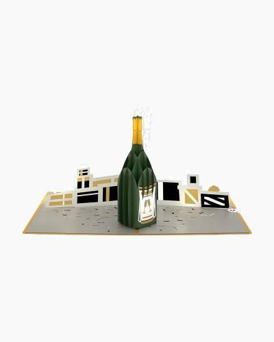 Champagne Celebration 3D Pop Up Card
