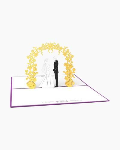 Wedding Day 3D Pop Up Card