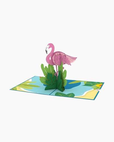 Flamingo 3D Pop Up Card