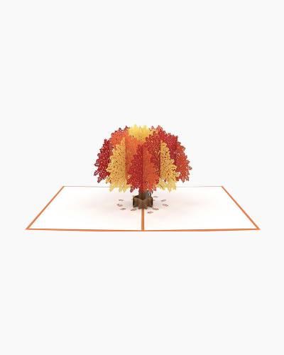 Oak Tree 3D Pop Up Card