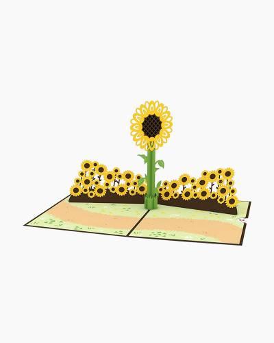 Sunflower 3D Pop Up Card