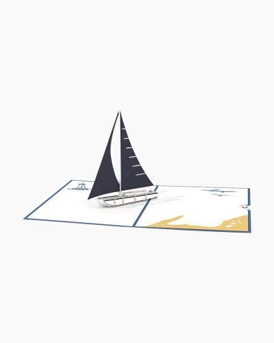 Sailboat 3D Pop Up Card