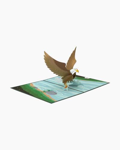 Eagle 3D Pop Up Card