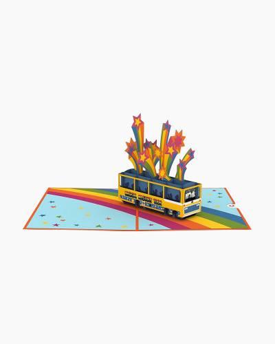 The Beatles Magical Mystery Tour 3D Pop Up Card