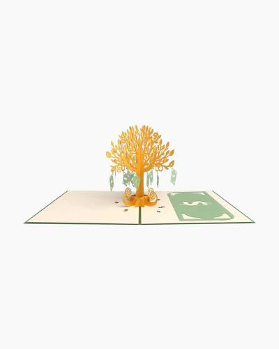 Money Tree 3D Pop Up Card