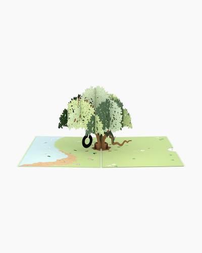 Live Oak 3D Pop Up Card