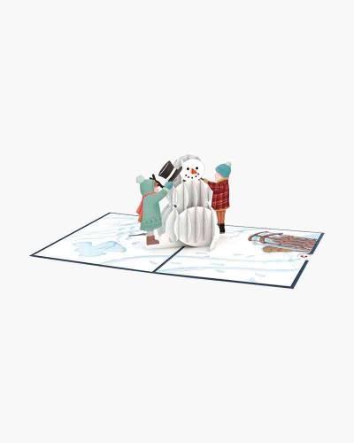 Snowman 3D Pop Up Card