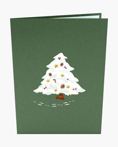 Night Before Christmas Tree 3D Pop Up Card