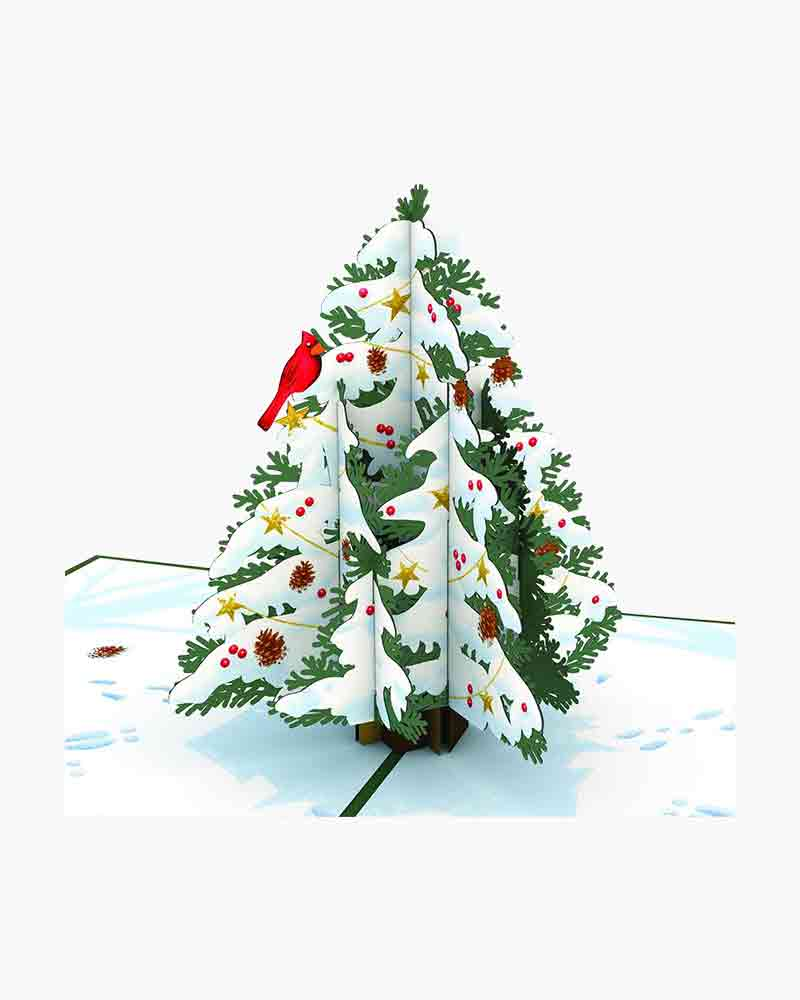 Lovepop Night Before Christmas Tree 3D Pop Up Card | The Paper Store