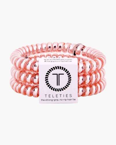 Millennial Pink Small Hair Tie Set (3-Pack)