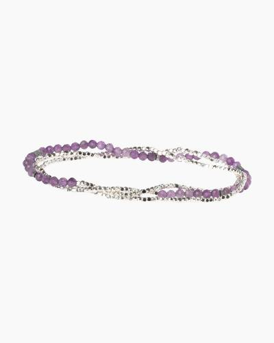 Stone of Protection Delicate Convertible Necklace and Bracelet