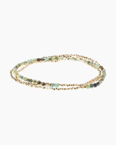 Stone of Transformation Delicate Convertible Necklace and Bracelet