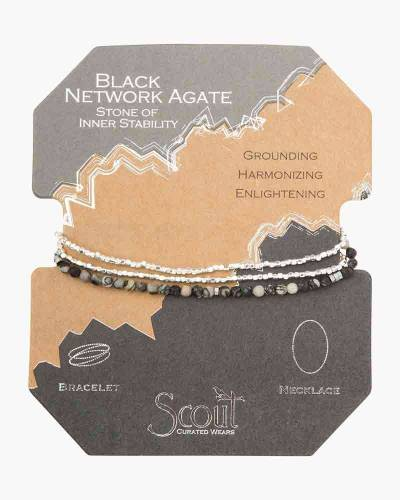 Stone of Inner Stability Delicate Convertible Necklace and Bracelet