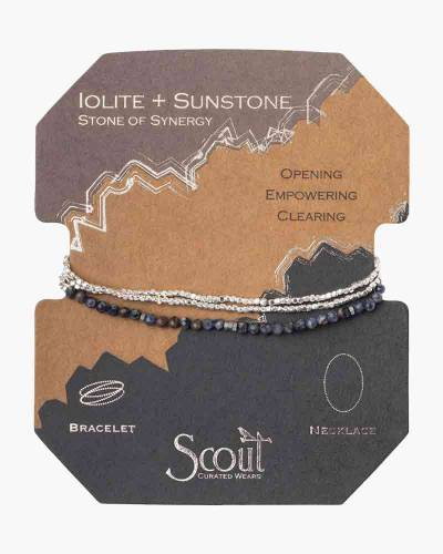 Stone of Synergy Delicate Convertible Necklace and Bracelet
